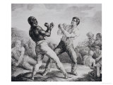 Boxers, 1818 Giclee Print by Th&#233;odore G&#233;ricault