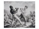 Boxers, 1818 Art by Théodore Géricault