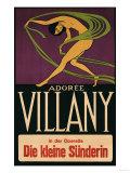 Villany circa 1920 Giclee Print