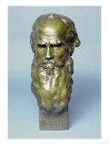 Bronze Head of Leo Tolstoy Prints