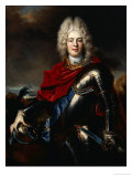 Portrait of Frederick Augustus II of Saxony (1696-1763), Later King Augustus III of Poland Posters by Nicolas De Largilliere