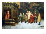 The Carol Singers Giclee Print by William M. Spittle