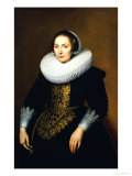 Portrait of a Lady, 1630 Giclee Print by Bartholomeus Sarburgh