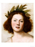 Head of Apollo Giclee Print by Girolamo Forabosco