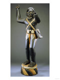 A Fine and Rare Fon Male Allegorical Figure Possibly Representing Gezo, the First Ruler of Dahomey Posters