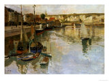 Dieppe Giclee Print by Fritz Thaulow