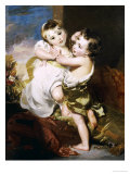 The Proffered Kiss Giclee Print by Thomas Lawrence