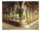 Cefalu Cloisters, Sicily, 1911 Giclee Print by Josef Theodor Hansen