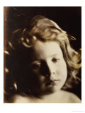 Portrait of a Child, circa 1866 Posters by Julia Margaret Cameron