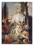 Diana and Acteon Giclee Print by Giovanni Battista Tiepolo