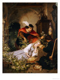 Sleeping Beauty Print by Roland Risse