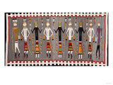 A Navajo Yei Rug Giclee Print