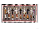 A Navajo Yei Rug Giclee Print