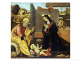 The Nativity Prints by Fillippino Lippi