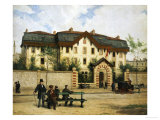 Asile Suisse a St-Mande, Paris, 1872 Giclee Print by Albert Anker