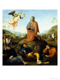 The Agony in the Garden Giclee Print by Perugino Pietro Vannucci