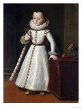 Portrait of Carlos Di Fernando de Medici (circa 1596-1666), Aged Two Poster by Tiberio Titi