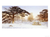 Untrodden Snow Within Three Miles of Charing Cross, Holland Park Giclee Print by Andrew Mccallum
