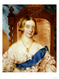 Queen Victoria Giclee Print by Lady Burrard