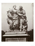 Arria and Poetus by Pierre le Paultre, Tuileries Gardens, 1859 Print by Charles Negre