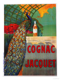 Cognac Jacquet, circa 1930 Art by Camille Bouchet