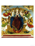 The Assumption of the Virgin, School of Avignon Art by  School Of Avignon