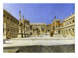 The Roman Forum Giclee Print by Joseph Theodore Hansen