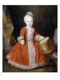 Portrait of Prince Xavier de Saxe Giclee Print by Louis de Silvestre