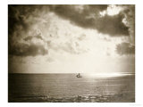 Brig on the Water, 1856 Premium Giclee Print by Gustave Le Gray