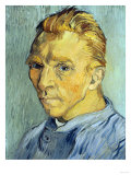 Self Portrait Without Beard, 1889 Giclee Print