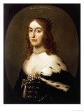 Portrait of Elizabeth, Queen of Bohemia (1596-1662) Prints by Gerrit Van Honthorst