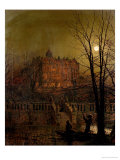 Under the Moonbeams, 1882 Giclee Print by John Atkinson Grimshaw