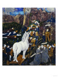 The Wooden Horse Brought Into Troy, circa 1530-40 Giclee Print