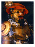 The Waiter: an Anthropomorphic Assembly of Objects Related to Winemaking Posters by Giuseppe Arcimboldo