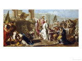 The Sacrifice of Polyxena at the Tomb of Achilles Giclee Print by Giovanni Battista Pittoni