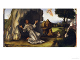 Saint Francis Receiving the Stigmata Posters by Francesco Francia