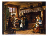 The School Room, 1853 Giclee Print by Alfred Rankley