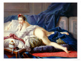 L'Odalisque Brune Giclee Print by Francois Boucher