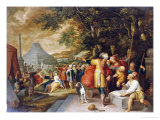 The Building of the Tower of Babel Giclee Print by Frans Francken the Younger