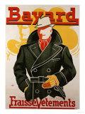 Bayard, Fraise Vetements, circa 1930 Poster