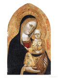 The Madonna and Child Poster by Giovanni Di Nicola Da Pisa