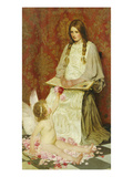 The Stranger, 1902 Giclee Print by William Henry Margetson