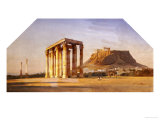 The Acropolis Giclee Print by Carl Neumann