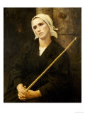 The Penitent, 1886 Giclee Print by Jules Breton