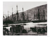 Head of Harbour, Balaclava Giclee Print by Roger Fenton
