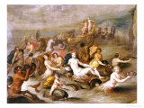 The Triumph of Amphitrite Posters by Frans Francken the Younger