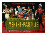 La Menthe-Pastille, circa 1905 Posters