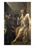 The Death of Socrates Premium Giclee Print by Salvator Rosa