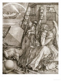 Melancholia, 1513 Giclee Print by Albrecht D&#252;rer