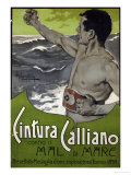 Cintura Calliano, 1898 Posters by Adolfo Hohenstein